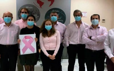 Our participation in the campaign join the pink around the world