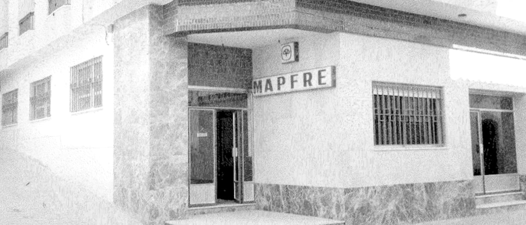 75 years of history in a MAPFRE office