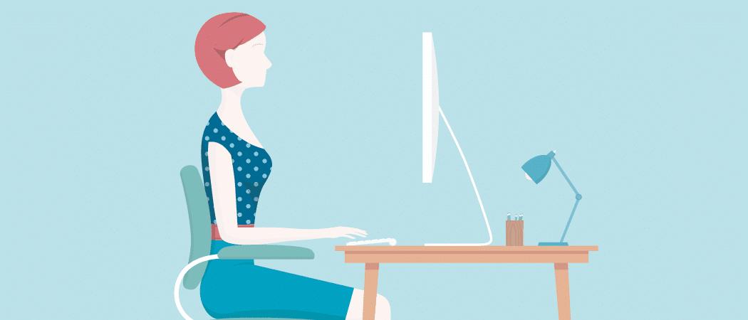 Esteja você trabalhando em casa ou no escritório, cuide da sua ergonomia!