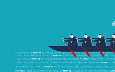 """MAPFRE EN SUS 25 AÑOS DE HISTORIA RECIENTE EN """"EL MUNDO DE MAPFRE"""""""
