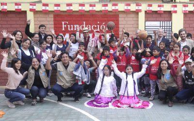 Visita a los proyectos Sociales de Perú