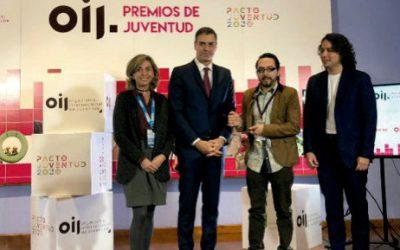 Premios con la Organización de la Juventud para Iberoamérica
