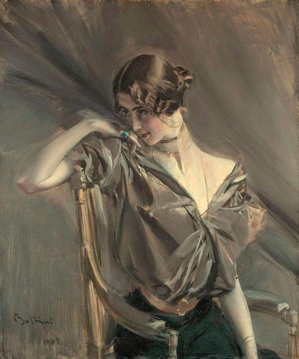 Giovanni Boldini Cléo de Mérode, 1901 Colección particular