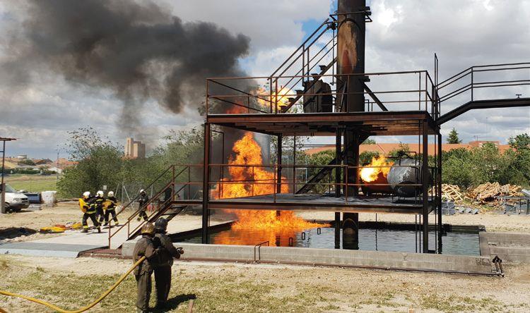 Competición de defensa contra incendios