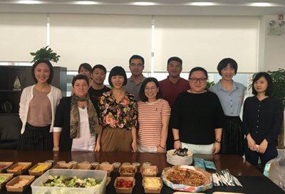 CHINA, menú saludable, 2019