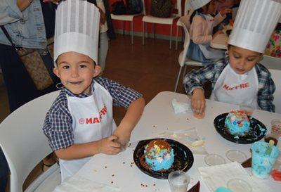 MÉXICO, taller infantil de cocina, 2017