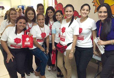 PANAMÁ, Voluntarios, 2016