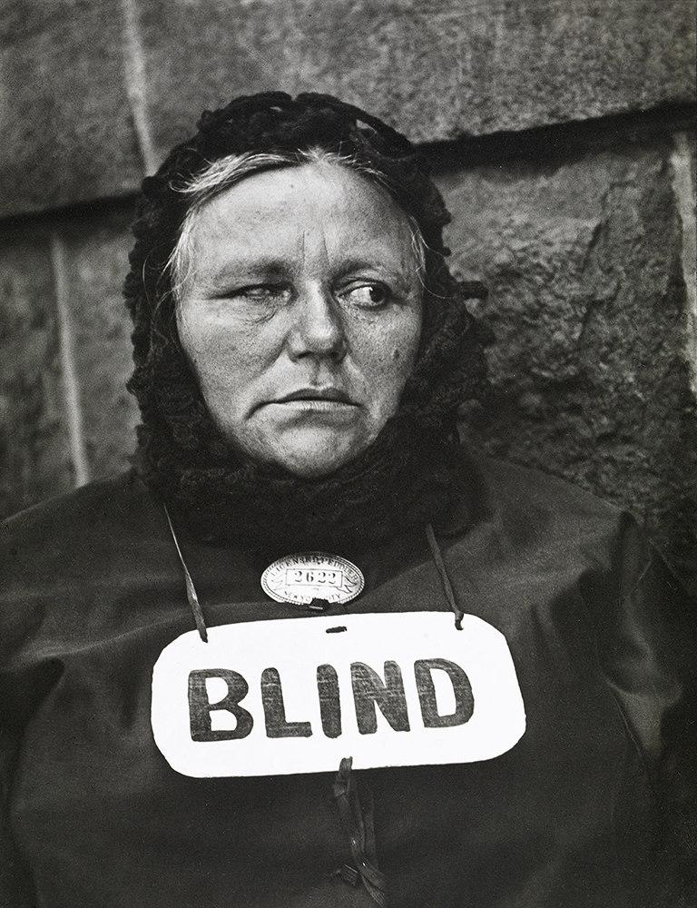 Blind Woman, New York - Paul Strand