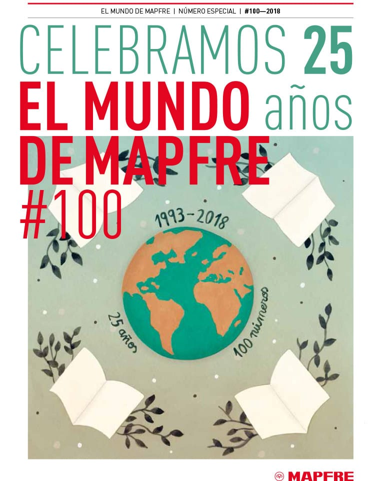 Revista El Mundo de MAPFRE 100