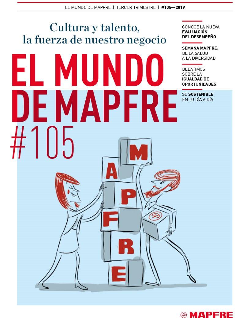 Revista El Mundo de MAPFRE 105